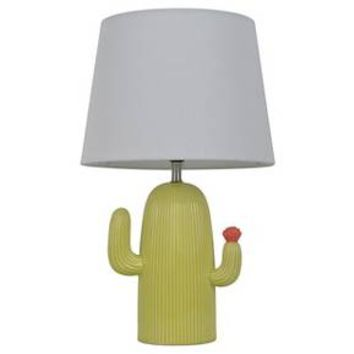 Cactus Table Lamp Green&White - Pillowfort™