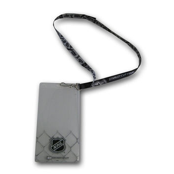 Stanley Cup Finals Reversible Ticket Lanyard with NHL Ticket Holder