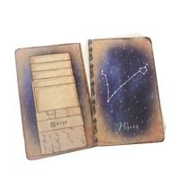 Pisces Constellation Journal - Zodiac Notebook - Horoscope Diary