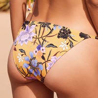 Out From Under Printed Slinky Bikini Bottom | Urban Outfitters
