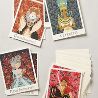Classic Queens Stationery Set by Rifle Paper Co. Multi Set Of 8 House & Home