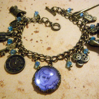 Deluxe Cinderella Inspired Charm Bracelet by KawaiiCandyCouture