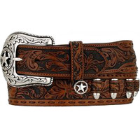Tony Lama Men's Straight Shooter Western Belt