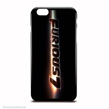 Fast And Furious 7 Logo Case For Iphone Case