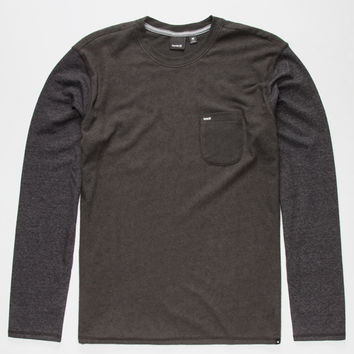 Hurley Winterlight 3 Mens T-Shirt Charcoal  In Sizes