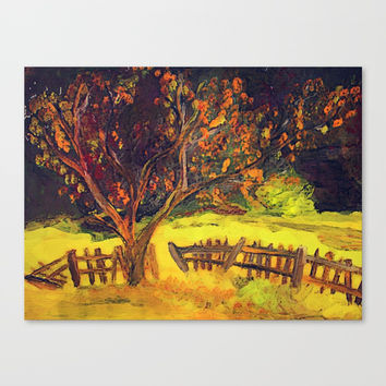 Autumn art Canvas Print by AidaArt