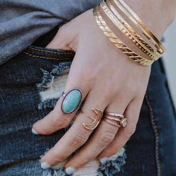 Dancing Queen Turquoise Ring