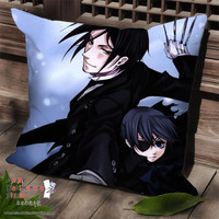 New Kuroshitsuji Anime Dakimakura Square Pillow Cover SPC179
