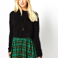 ASOS Fluffy Crop