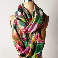 Washed Garden Infinity Scarf