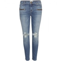 The Stiletto Biker skinny jeans