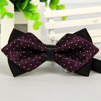 Business Men Bow Tie Formal Commercial Bow Tie Men Accessories Cravat Bowtie Corbata de Monio #2415