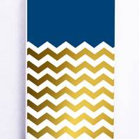 Chevron Gold for Iphone 5C Hard Cover Plastic