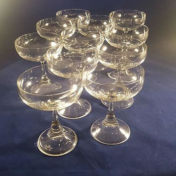 Rosenthal Studio Line Crystal Champagne Coupes