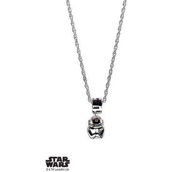 Star Wars Stormtrooper V2 Necklace - Chrome