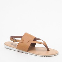 Black Poppy Sling Back Sandals - Womens Sandals - Brown