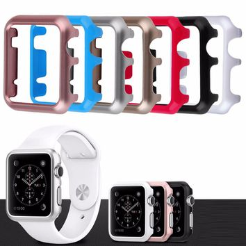 2016 Newest Cool Clear Slim Thin Hard Snap Case Cover Skin For Apple Watch 42MM HOT
