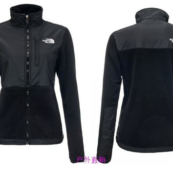 THE North Face New winter women plus velvet jacket to keep warm