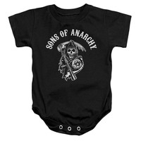 Sons Of Anarchy - Soa Reaper Infant Snapsuit