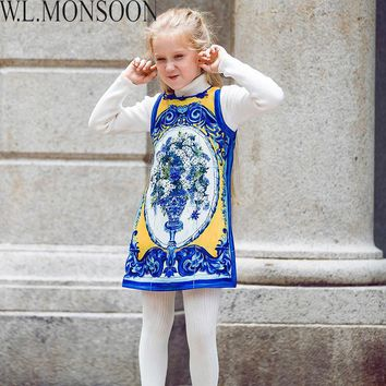 W.L. MONSOON Brand Christmas Embroidered Dresses