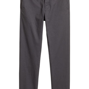 Cotton Chinos Skinny fit - from H&M