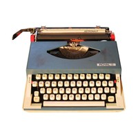 Pre-owned Royal Sprite Typewriter Astronaut Model Working