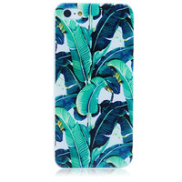 Green Leaves Phone Protective Cases For iphone 7 7Plus 4 4s 5 5s 5c 6 6s 6plus 6s plus