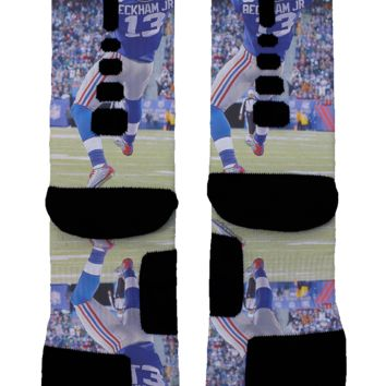 Odell Beckham Custom Nike Elite Socks