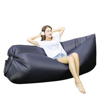 Air Sofa Inflatable Lounger Lazy Bag Couch Sleeping Hammock Pool Float Portable for Indoors & Outdoors Camping Travel Beach Waterproof