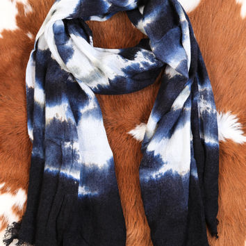 Harvest Time Scarf, Blue