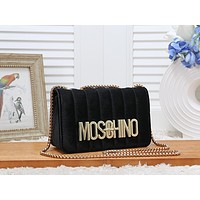 ''MOSCHINO'' Marmont Women Shopping Leather Metal Chain Crossbody Satchel Shoulder Bag