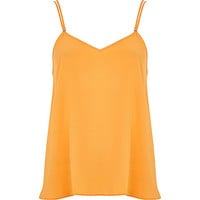 River Island Womens Orange V neck cami top