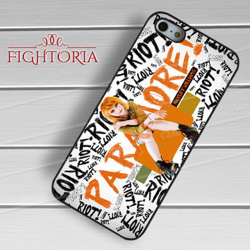 Riot Paramore Hayley Williams - z321z for iPhone 6S case, iPhone 5s case, iPhone 6 case, iPhone 4S, Samsung S6 Edge