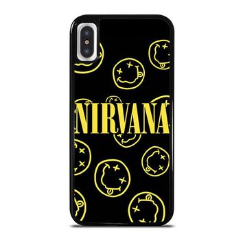 NIRVANA SMILEY COLLAGE iPhone X Case Cover