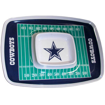 Dallas Cowboys Chip and Dip Tray FCTY055