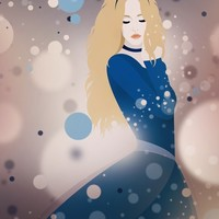 """Cinderella"" - Art Print by Seventy Two"