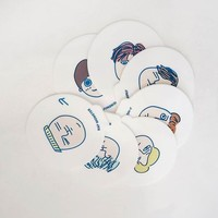 [BTS] Coasters Set illustrated by Jungkook
