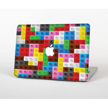 The Neon Colored Building Blocks Skin for the Apple MacBook Air 13""