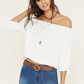 Off-the-Shoulder Top | Forever 21 - 2000153158