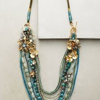 Miriam Haskell Palau Layer Necklace in Turquoise Size: One Size Necklaces