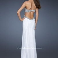 La Femme Dress 18577 at Peaches Boutique