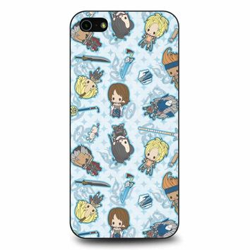 Final Fantasy X Chibi iPhone 5/5s/SE Case