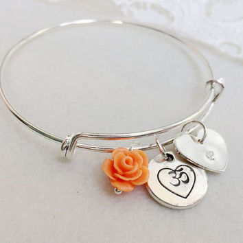 Ohm, OM, yoga, Bracelet, Personalized Jewelry, OM Bracelet, OM charm, yoga jewelry, yoga gift, gift idea for Mother's day Gift