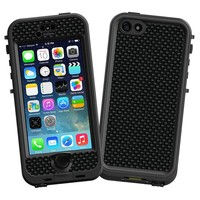 "Carbon Fiber Satin ""Protective Decal Skin"" for LifeProof nuud iPhone 5s Case"