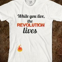 Catching Fire Quote - The revolution lives