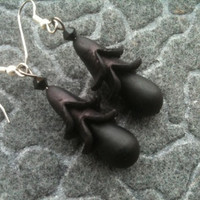 Black of Heart Black Calla Lily and Glass by decadentdelusion