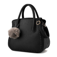 casual brief tote small hair knitting handbags formal women briefcase pack famous brand ladies shoulder messenger crossbody bags