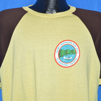 80s Camp Mountain Run Boy Scouts t-shirt Large