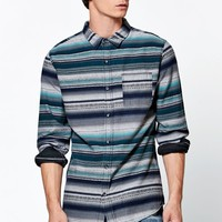 Beckett Jacquard Long Sleeve Button Up Shirt