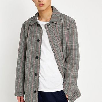 UO Prince of Wales Hiro Mac Jacket | Urban Outfitters